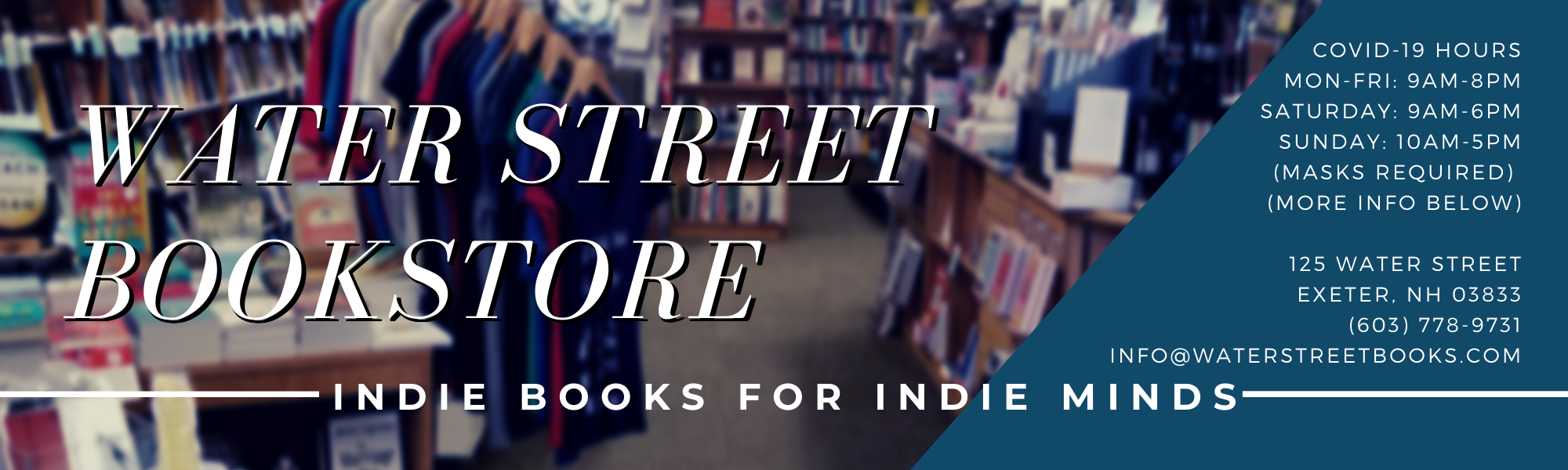 Water Street Bookstore, Inc.